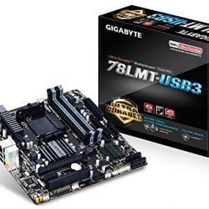 Gigabyte-AM3-AMD-DDR3-1333-760G-HDMI-USB-30-Micro-ATX-Motherboard-GA-78LMT-USB3-0